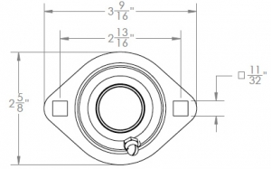 620 Flange Mounted Bearing Assemblies